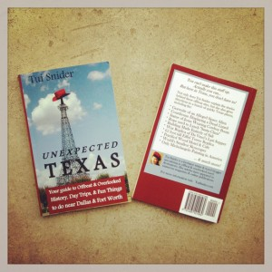 Unexpected Texas book proofs - squee! (photo by Tui Snider)