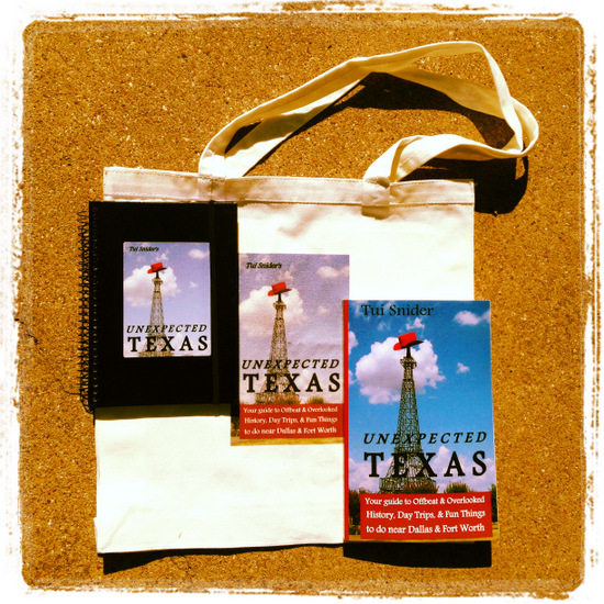#UnexTex Unexpected Texas blog tour prize (photo by Tui Snider)