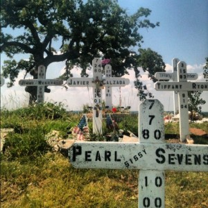 Garden of Angels Murder Memorial in Euless, TX (photo by Tui Snider)