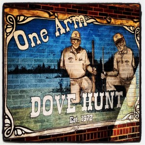 One Arm Dove Hunt in Olney, TX (photo by Tui Snider)