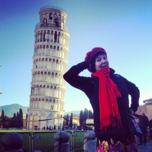 Leaning Tower of Pisa (photo by Larry Snider)