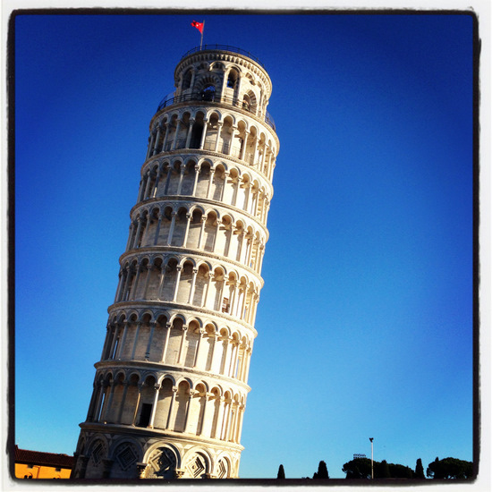 Leaning Tower of Pisa (photo by Tui Snider)