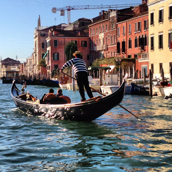 Gondolas in Venice, Italy (photo by Tui Snider)