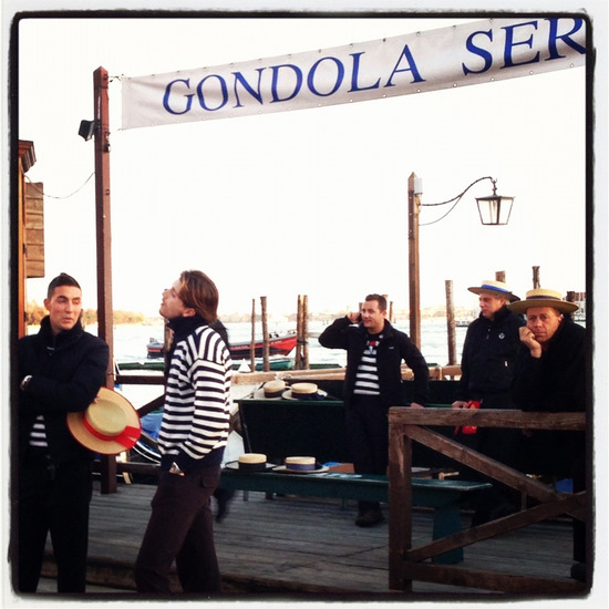 Gondoliers in Venice, Italy (photo by Tui Snider)