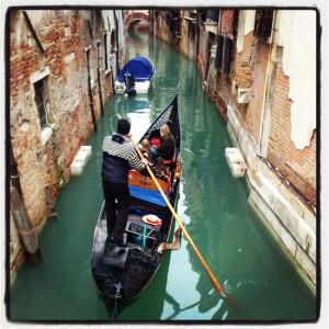 Gondolas in Venice, Italy (photo by Tui Snider)
