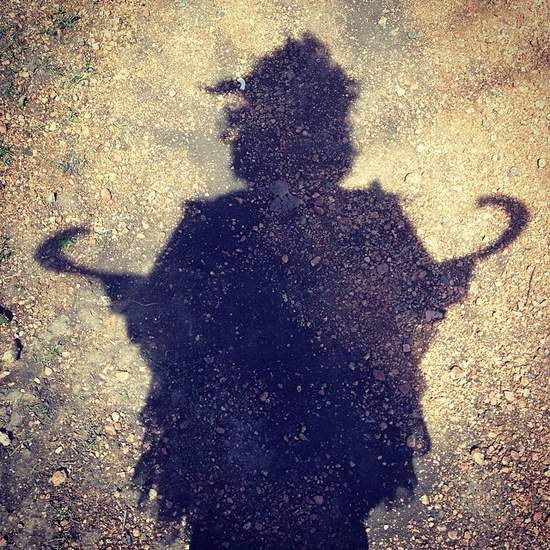 Shadow fairy selfie at Scarborough Renaissance Festival (photo by Tui Snider)