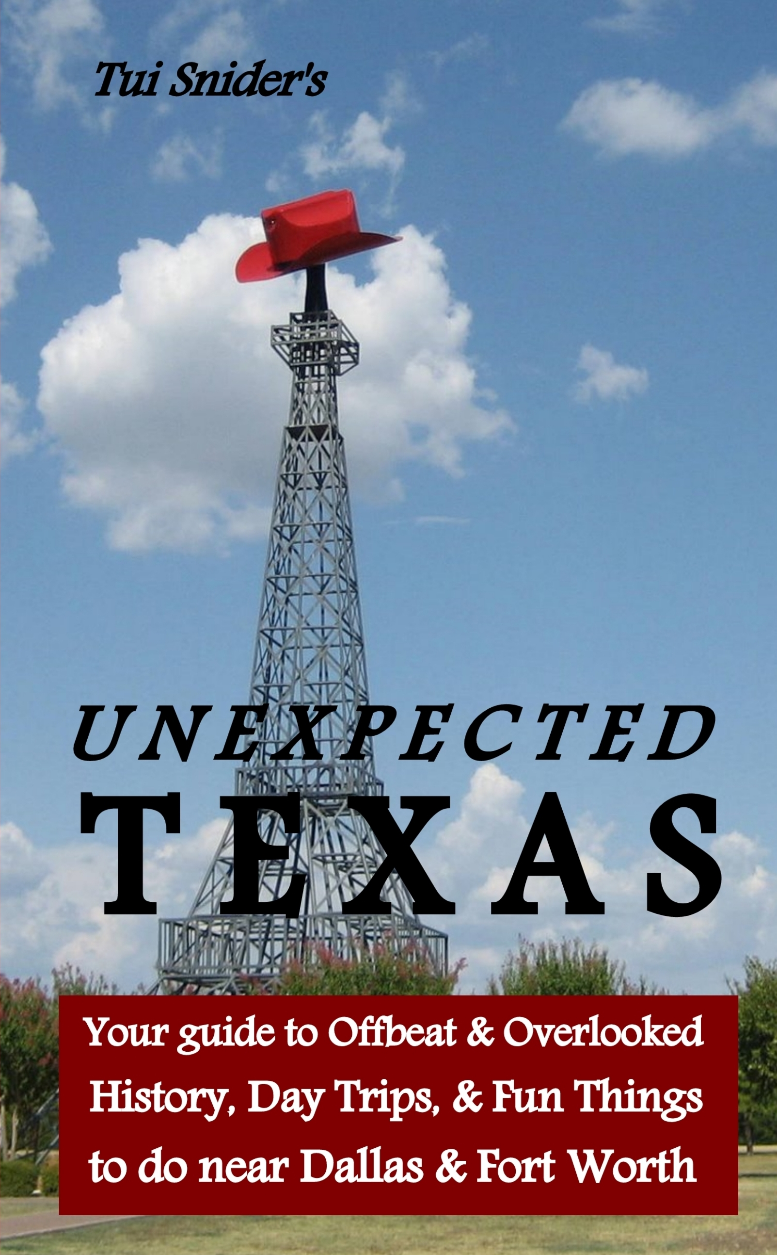 Unexpected Texas - front cover (photo & design, copyright Tui Snider, 2014)