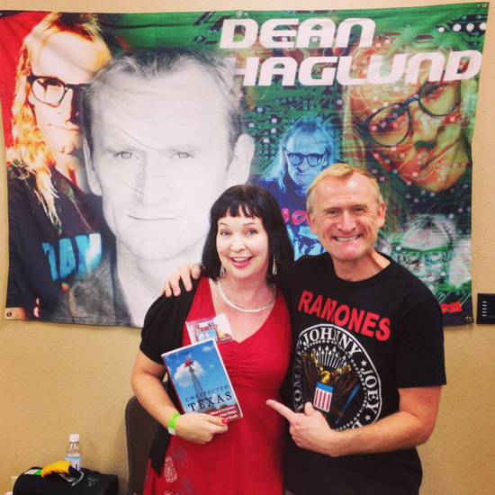 Goofing around with the X Files' Dean Haglund in Granbury, TX