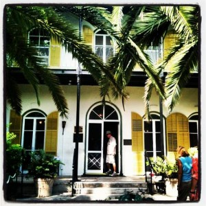 Hemingway House Museum in Key West, Florida (photo by Tui Snider)
