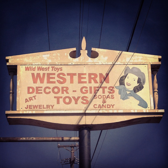 Wild West Toys in Azle, TX (photo by Tui Snider)