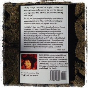 Paranormal Texas by Tui Snider (back cover)