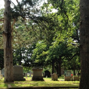 Folks report paranormal activity during the DAY at this historic Texas cemetery! (photo by Tui Snider)