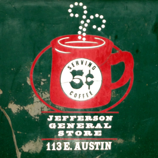Coffee is still a nickel at the Jefferson General Store (photo by Tui Snider)