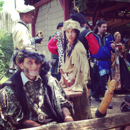 Scarborough Renaissance Festival in Waxahachie, Texas, (photo by Tui Snider)