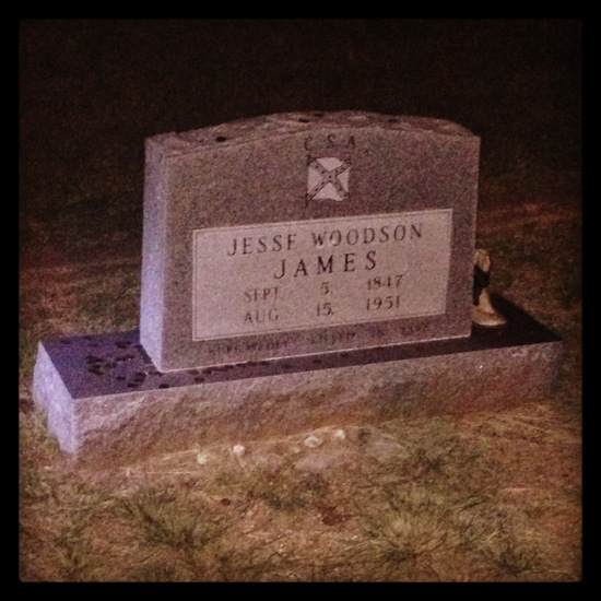 Is Jesse James buried in Granbury, Texas? (photo by Tui Snider)