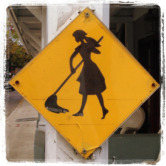 Cinderella crossing? (photo by Tui Snider)