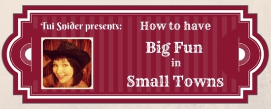 550 Big Fun Small Towns Tui Snider Author Speaker