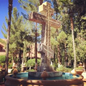 Greek Orthodox cross (photo by Tui Snider)