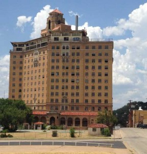 The Baker Hotel is just down the street from Haunted Hill House in Mineral Wells, Texas (photo by Tui Snider)