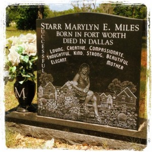 Such a creative epitaph! (photo by Tui Snider)