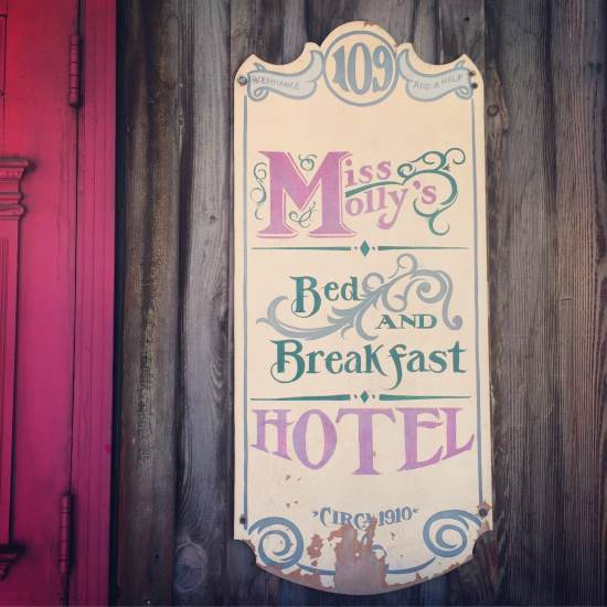 Miss Molly's Hotel is a well known haunted hot spot in Fort Worth, Texas (Tui Snider)