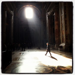 Shadow and light (photo by Tui Snider)