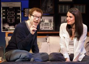 IF/THEN starring Anthony Rapp & Jackie Burns (Photo by Joan Marcus, courtesy of AT&T Performing Arts Center)