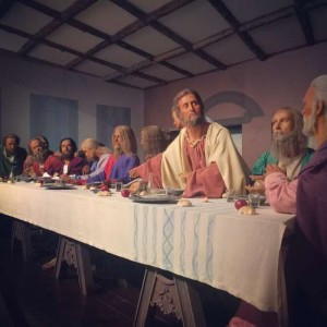 Life Size Wax Replica of the Last Supper in Fort Worth, TX (photo by Tui Snider)