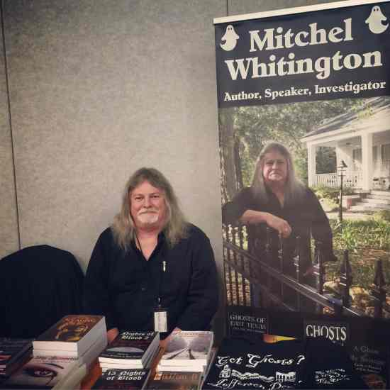 Mitchel Whitington at History, Haunts & Legends in Jefferson, TX (photo by Tui Snider)