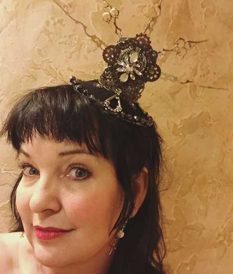 My friend Mark Elliott Fults make this gorgeous steampunk fascinator!