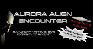Exciting Texas UFO Conference April 16, 2016