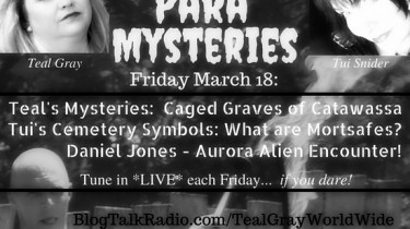 Para Mysteries is a new weekly radio show. Tune in... if you dare!