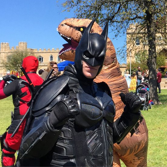 Comic Con at the Texas Pythian Home in Weatherford, TX (photo by Tui Snider)