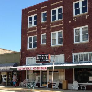 Beckham Hotel in Mineola, TX (photo by Tui Snider)