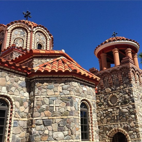 St Anthony's Greek Orthodox Monastery in Florence, AZ (photo by Tui Snider)