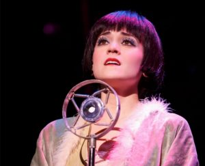 Andrea Goss as Sally Bowlesinthe 2016 National Touring productionof Roundabout Theatre Company's CABARET. Photo by Joan Marcus.
