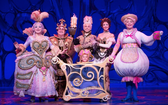 Beauty & the Beast ensemble (photo provided by ATT Performing Arts Center)