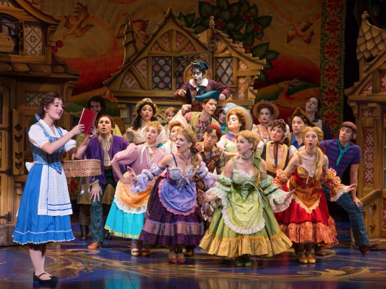 Disney's Beauty & the Beast ensemble. Photo provided by AT&T Performing Arts Center