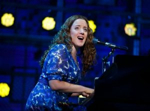 """Abby Mueller (""""Carole King"""") Beautiful: The Carole King Musical. Photo by Joan Marcus"""