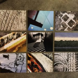 I will be offering a set of 10 cards (only 9 shown here!) for sale during the show. (photos by Tui Snider)