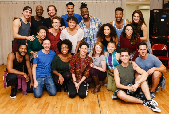 RENT 20th Anniversary Tour Company. Photo credit Emilio Madrid-Kuser, Broadway.com