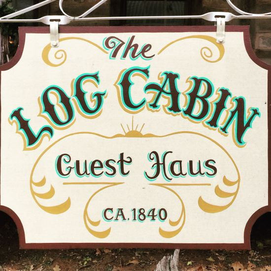 Log Cabin Guest Haus bnb in Cisco, Texas (photo by Tui Snider)