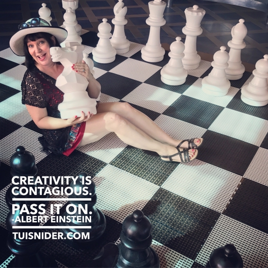 Creativity is contagious! (photo by Tui snider)