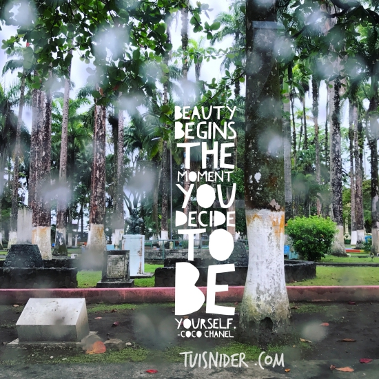 B Being Yourself - Easier Said than done?