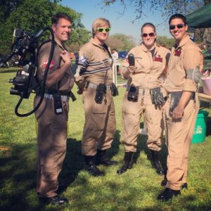 Who ya gonna call? My Launch Team! (photo by Tui Snider)