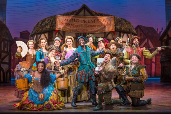 Something Rotten! ensemble (c) Joan Marcus