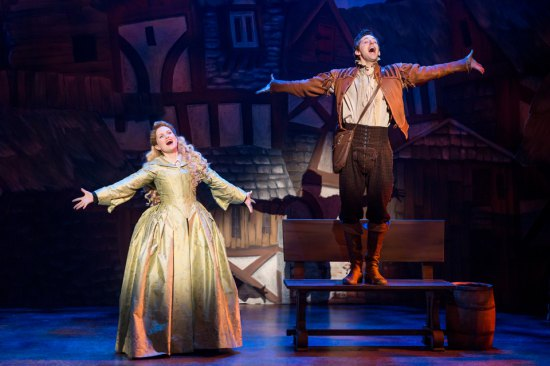 Something Rotten! with Autumn Hurlbert & Josh Grisetti (c) Joan Marcus