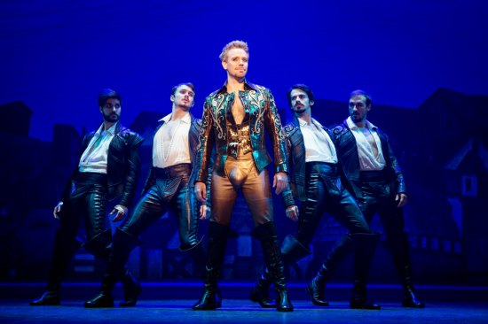 Simply Rotten! with Adam Pascal & his codpiece wearing entourage (c) Joan Marcus
