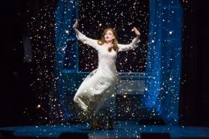 Christine Dwyer as Sylvia Llewelyn Davies in Finding Neverland Credit Jeremy Daniel