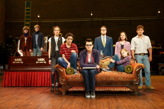 The National Tour Company of Fun Home (c) Joan Marcus